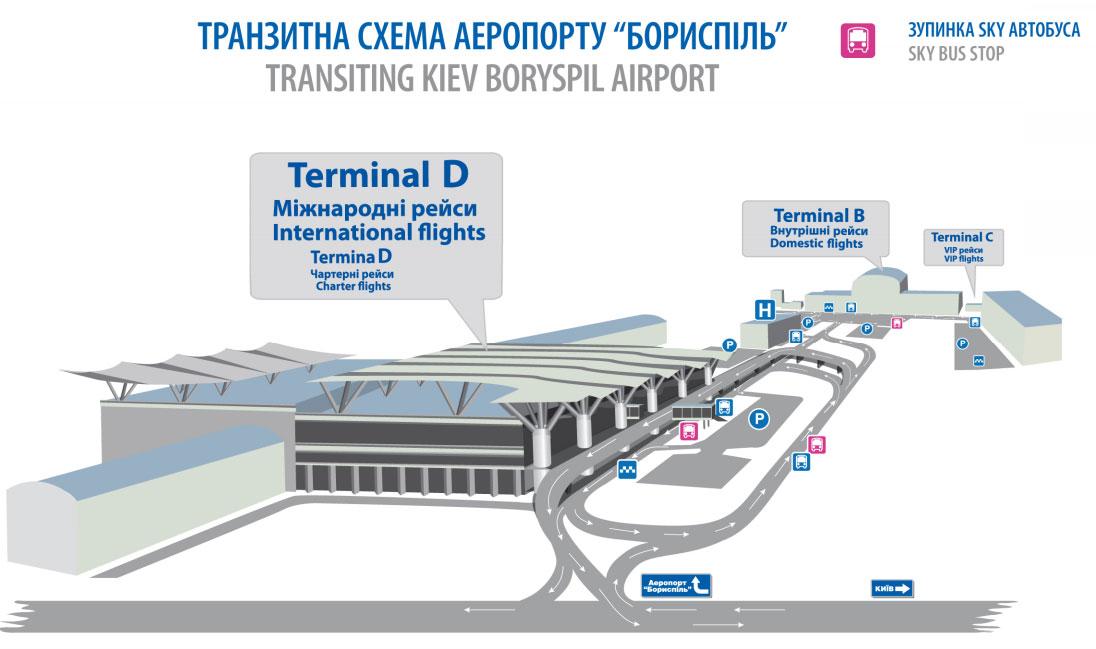 Автобусные кассы в аэропорту